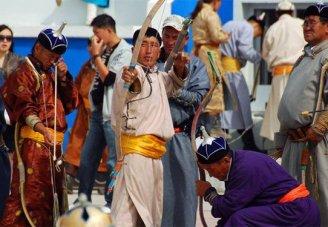 Mongolia Gobi Desert with Naadam Festival
