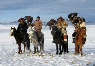 Mongolia With The Golden Eagle Festival