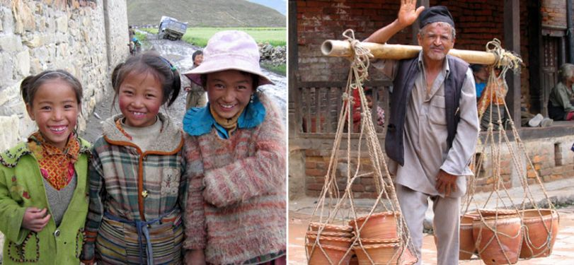 Faces of Tibet and Nepal