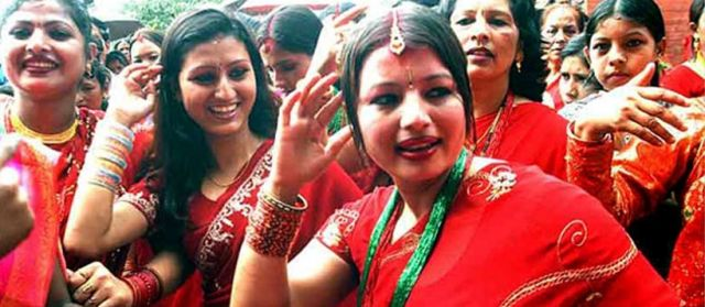 Teej-the Festival of Nepali Women